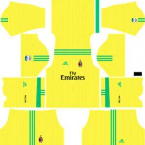 AC Milan Goalkeeper Away Kit