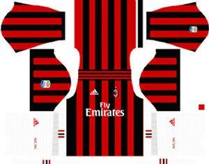 A.C Milan Home Kit