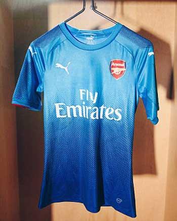Arsenal Team Away Kit