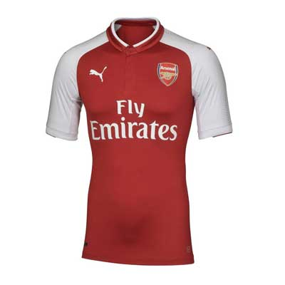 Arsenal Team Home Kit
