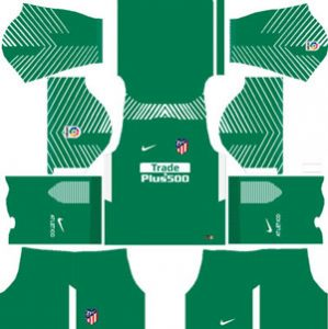 Atletico Madrid Goalkeeper Away Kit