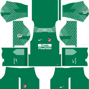 Atletico Madrid Goalkeeper Away Kit