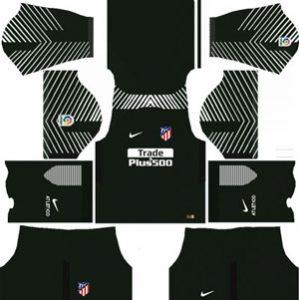 Atletico Madrid Goalkeeper Home Kit