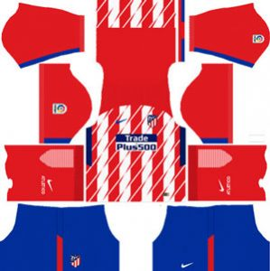 Atletico Madrid Home Kit