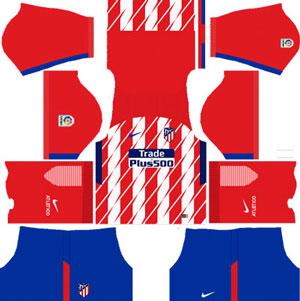 Atletico Madrid Home Kit