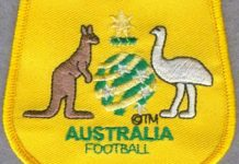 Australia National Association Football Team FIFA Soccer Badge Patch