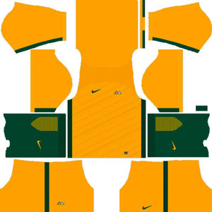Australia Team Home Kit