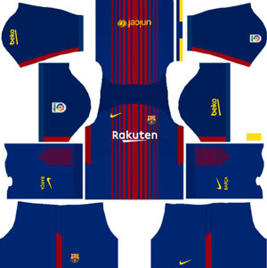 Barcelona Home Kit