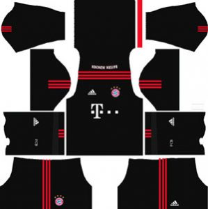 Bayern Munichm Goalkeeper Home Kit