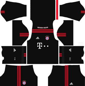 Bayern Munichm Goalkeeper Home Kit