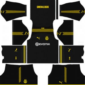 Borussia Dortmund Away Kit