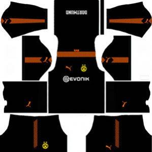 Borussia Dortmund Goalkeeper Away Kit