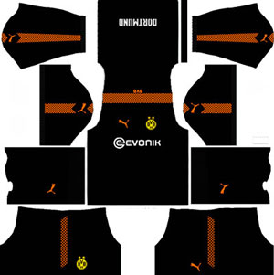 Borussia Dortmund Goalkeeper Away Kit