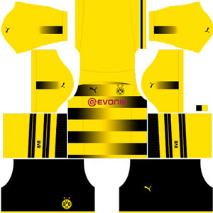 Borussia Dortumund Home Kit