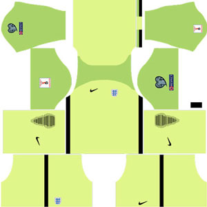 England Goalkeeper Third Kit