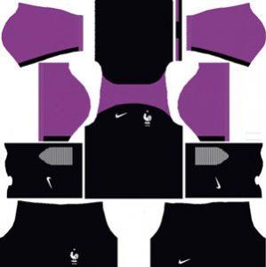 France Goalkeeper Away Kit