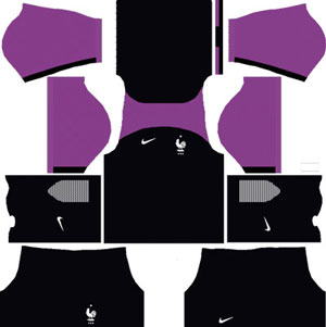 France Goalkeeper Away Kit