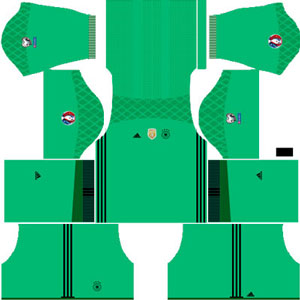 Germany Goal keeper Away Kit