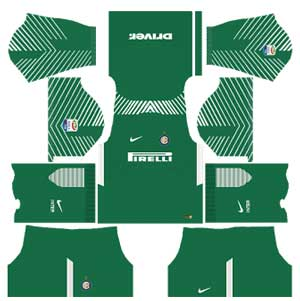 Inter Milan Team Goalkeeper Away Kit
