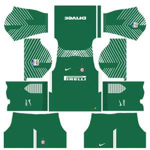 Inter Milan Team Goalkeeper Away Kit