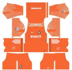 Inter Milan Team Goalkeeper Home Kit