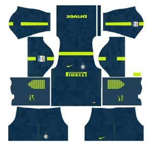 Inter Milan Team Third Kit