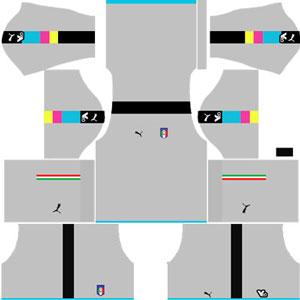 Italy Goalkeeper Home Kit