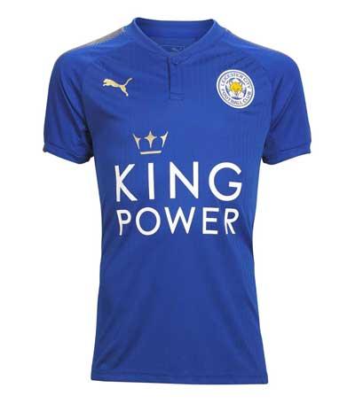 Leicester City Team Home Kit