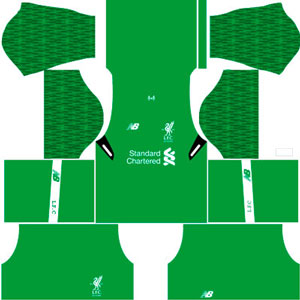 Liverpool Goal keeper Home Kit