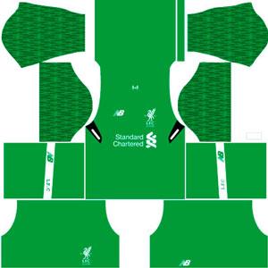 Liverpool Goal keeper Home Kit