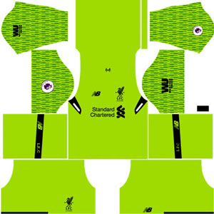 Liverpool Goalkeeper Third Kit