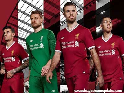 Liverpool Team Home Kit