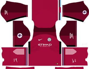 Manchester City Away Kit