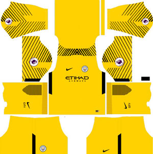 Manchester City Goalkeeper Away Kit