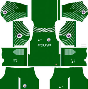 Manchester City Goalkeeper Home Kit