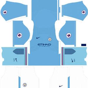 Manchester City Home Kit