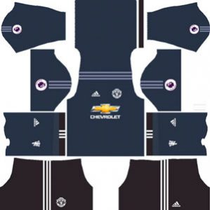 Manchester United Team Goalkeeper Home Kit