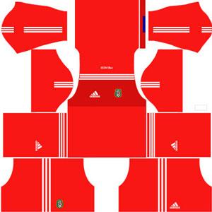 Mexico Goalkeeper Away Kit