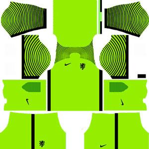 Netherlands Goalkeeper Home Kit