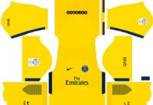 Paris Saint Germain Away Kit