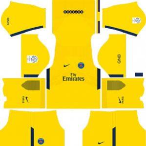 Paris Saint Germain Away Kit