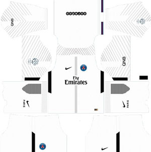 Paris Saint Germain Goalkeeper Away Kit