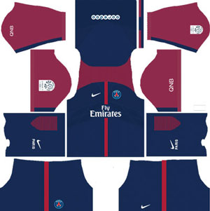 Paris-Saint Germain Home Kit