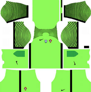 Portugal Goalkeeper Home Kit