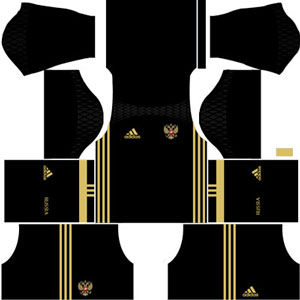 Russia Goalkeeper Kit