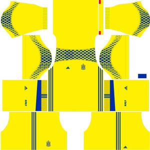 Spain Goalkeeper Kit