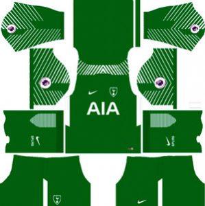 Tottenham Hotspur Goalkeeper Away Kit