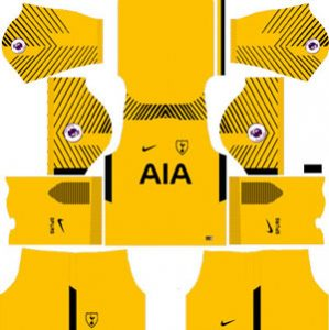 Tottenham Hotspur Goalkeeper Home Kit