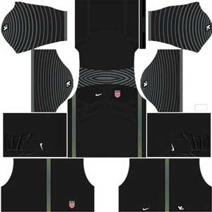 United State Goalkeeper (GK) Home Kit