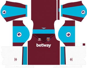 West Ham United Home Kit